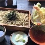 そば五郎 - 料理写真:天麩羅ざる(1200円)