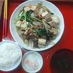 なかま食堂 - 豆腐チャンプルー(780円)
