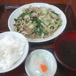 なかま食堂 - ミミガーチャンプルー(800円)