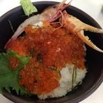 おかもと鮮魚店  - 海老と蟹を貰いました(╹◡╹)♡