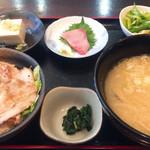 味労 - 豚汁定食トントンセット1000円