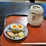 瓢亭 - 料理写真:前菜と瓢箪重