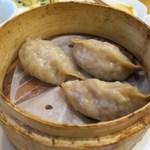 羊香味坊 - 蒸し餃子(そば粉皮)
