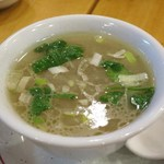 羊香味坊 - 魚羊湯(白身魚とラム肉のスープ)