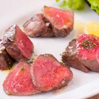Bambuおすすめ‼おまかせ赤身肉2種盛り合わせ
