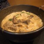 富貴堂 - 料理写真:牛すじカレーうどん