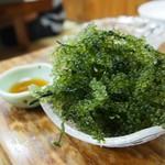 福寿し - 料理写真:海ブドウ