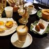 カステラ ド パウロ - 料理写真:御菓子と飲み物