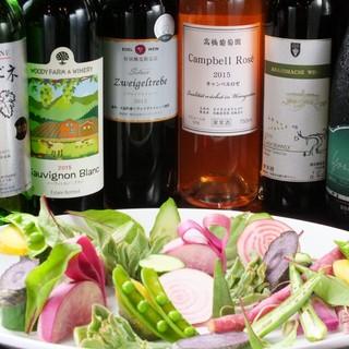 東北をメインとした日本のワイン