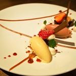 スイーツカフェ&バー フィナンシェ - 4月のデザートコース(春色のあしらい)