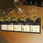 日比谷BAR WHISKY-SⅢ - 世界5大ウイスキー・フライト