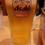 ゴーゴーカレー - 生ビール350円
