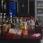 Cafe Niil Mare - 夜はお酒も。。。