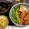 桃林 - 料理写真:牛ばらご飯 750円