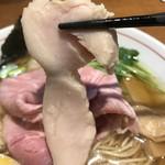 寿製麺 よしかわ - 【2017.5.4】鶏チャーシュー。
