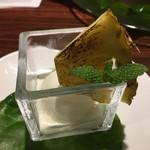 ハカタ オノ - バナナの餃子のソース