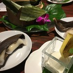 ハカタ オノ - バナナの餃子