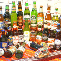 ショートトリップ - 世界のビールを30種類以上取り揃えております。各飲み放題コースに+1,200円でこちらも飲み放題になります♪