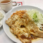 ボーイズカレー - 生姜焼き800円