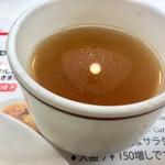 ボーイズカレー - コンソメスープは味濃い^^;