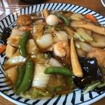 レストラン梓 - 料理写真:あんかけ焼きそば(980円)