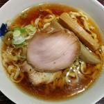 麺 みつヰ - 料理写真:中太手もみ麺、醤油(750円)