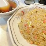 66867675 - ぱらしと炒飯と、あーこれこれ、これだよねぃ!となる味わいのスープね~