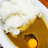 サン・カレー - 料理写真:カレー生卵
