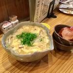 銀の里 - 料理写真:玉子とじにゅうめん(650円)