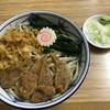 翁そば - 料理写真:冷やしむじなそば(530円)