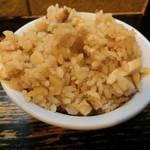 びぜん亭 - 炊き込みご飯100円