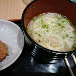 鶏三和 - セット鶏そば