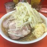 ラーメン二郎 - 料理写真:小700円「にんにくのみ」