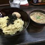 麺処 にそう - 料理写真:濃厚煮干しつけ麺中(850円)+玉子(100円)