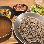 ふくい軒 - 越前おろし蕎麦と焼き鯖寿司セット