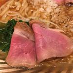 饗 くろ喜 - 鴨ロースト菊菜
