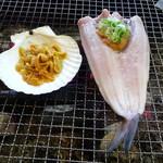 炉ばた ちどり - トップフォト ホッケチャンチャン焼に北紫海胆貝焼