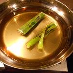 海鮮個室居酒屋 宇和之島 - 桜鯛のしゃぶしゃぶ鍋の鍋