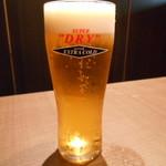 海鮮個室居酒屋 宇和之島 - 生ビール