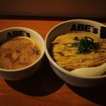 ABE's - 濃厚つけ麺