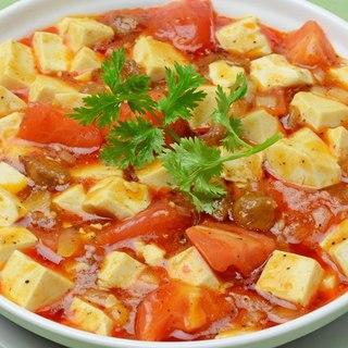 【本館限定】トマトと牛肉の麻婆豆腐