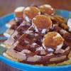 ディアリオ - 料理写真:チョコバナナワッフル
