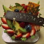 ポワソンダブリル - 生チョコバースデーケーキ
