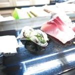 弥助寿司 - 料理写真:真烏賊 サヨリ ヒラマサ