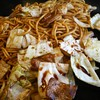 銀の卵 - 料理写真:豚焼きそば