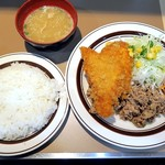 キッチンABC - 豚からし焼肉Cセット¥800