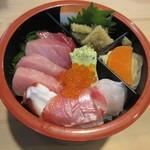 都寿司 - 上ちらしの種