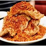 中華菜館 水蓮月 - 毛沢東スペアリブ @950円 デカい!美味い!余ったスパイスはお持ち帰り可能です。