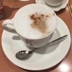 カフェ・ド・カンパーニュ - カプチーノ♪