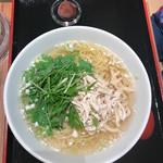麻SHIBIRE - 塩とり麺(だったか)
